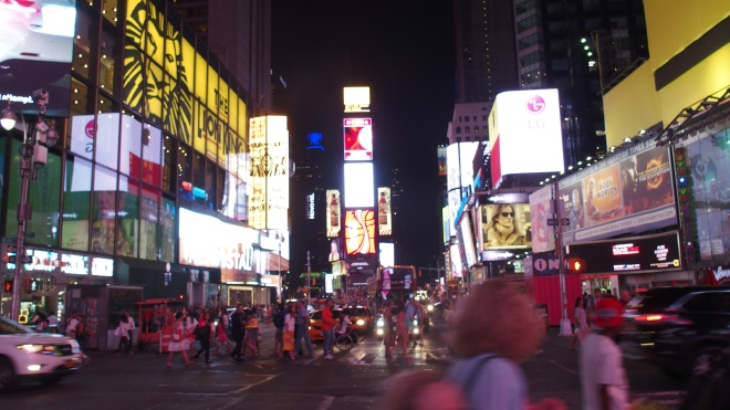 Time Square été 2015