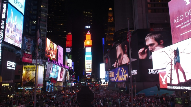 Time Square - été 2015