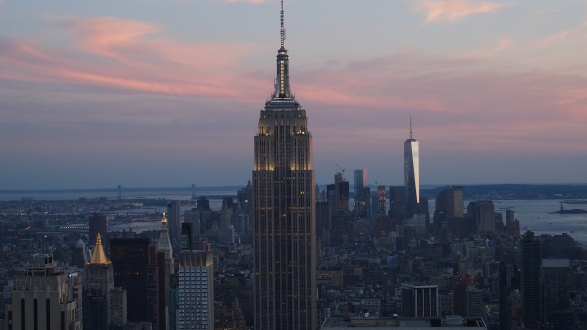 Top Of the Rock - NYC - été 2015