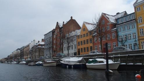 Balade en bateau sur les canaux de la ville de Copenhague