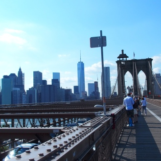 Pont de Brooklyn NYC - été 2015