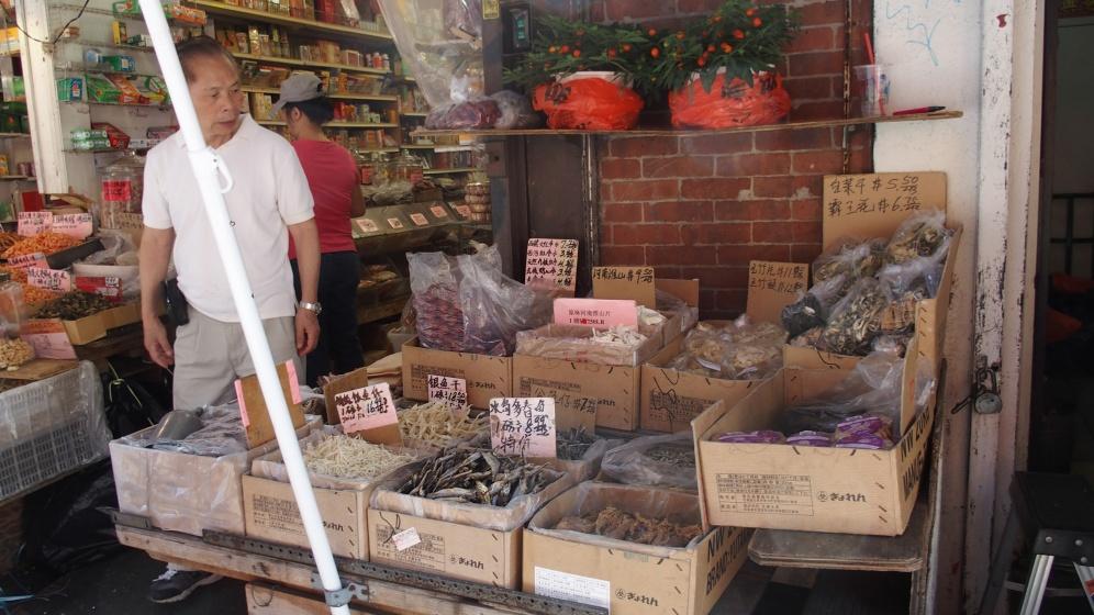 poissons sechés (très chinois)