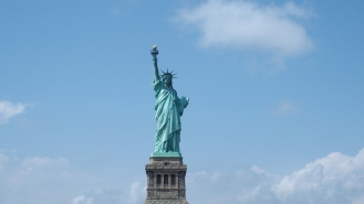 Liberty Island NYC - été 2015