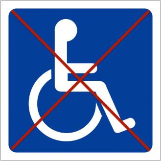 Non accessible